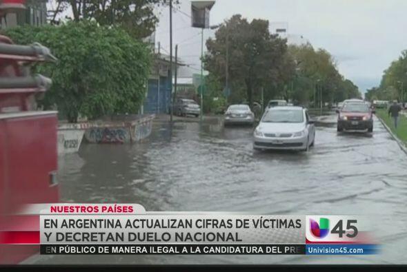El luto invade a Argentina luego de que las emblemáticas ciudades de Bue...