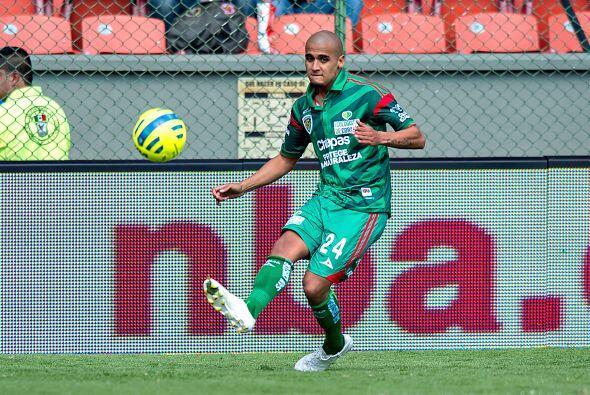 Luis Rodríguez, la velocidad del jugador de Chiapas es su principal arma...