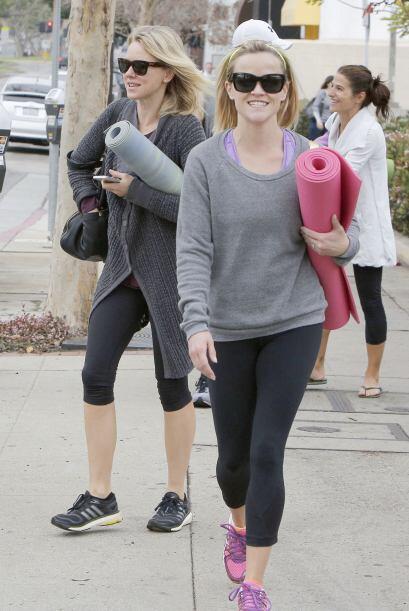 Además son buenas amigas y gustan de hacer ejercicio juntas.