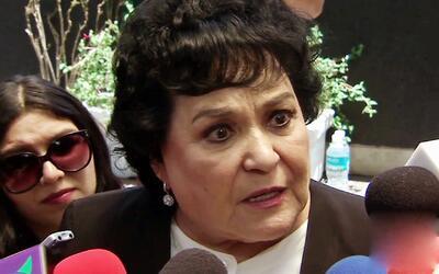 Carmen Salinas dice que ya no volverá a opinar de absolutamente nada