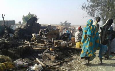 En el ataque también resultaron heridas más de 100 personas.