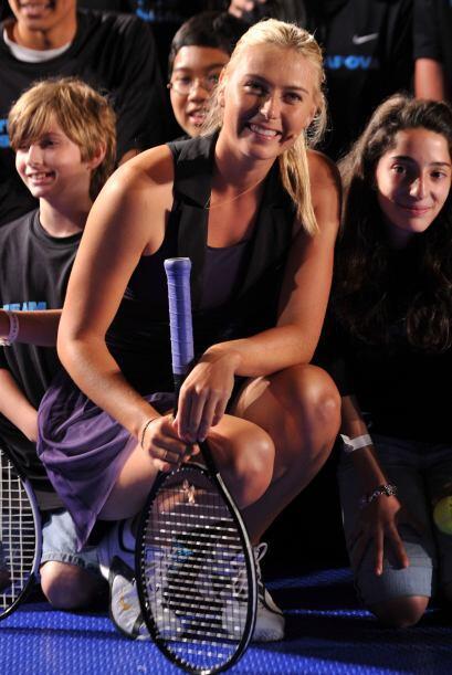 Con un corazón tan bello, Sharapova fue nombrada en el 2007 Embajadora d...