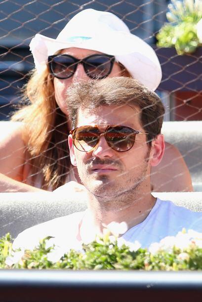 También estuvo Casillas viendo a su buen amigo Rafa Nadal.
