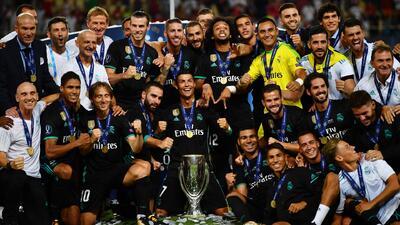 Los goles con los que el Real Madrid ganó su última Supercopa al Manchester United