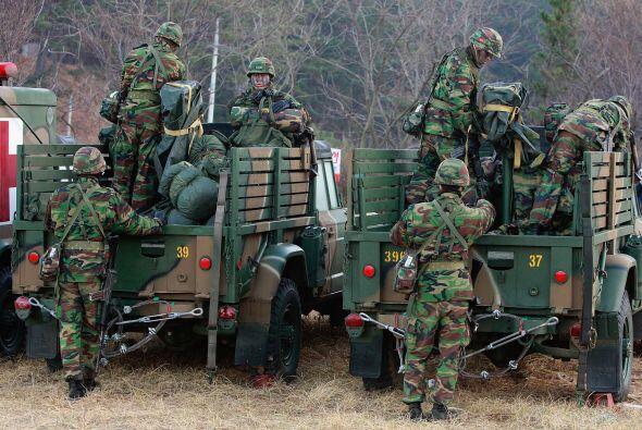 Las dos Coreas han estado técnicamente en guerra desde que terminó el co...