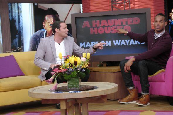 El talentoso actor de Hollywood, Marlon Wayans llegó a Despierta con tod...