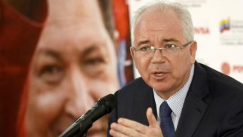 Rafael Ramírez, embajador de Venezuela ante la ONU y expresidente de Pvdsa.