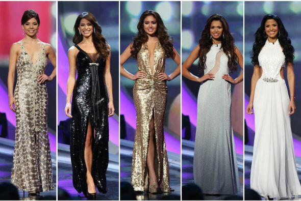 Las chicas lucieron hermosas en los vestidos del diseñador venezo...