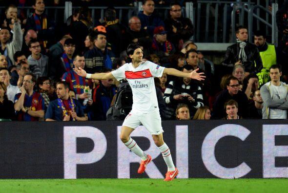 El argentino Javier Pastore culminó un ataque parisino y definió correct...