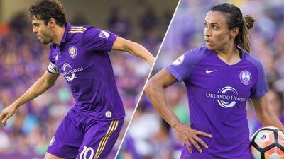 Balón de Oro: Kaká y Marta, Orlando City SC