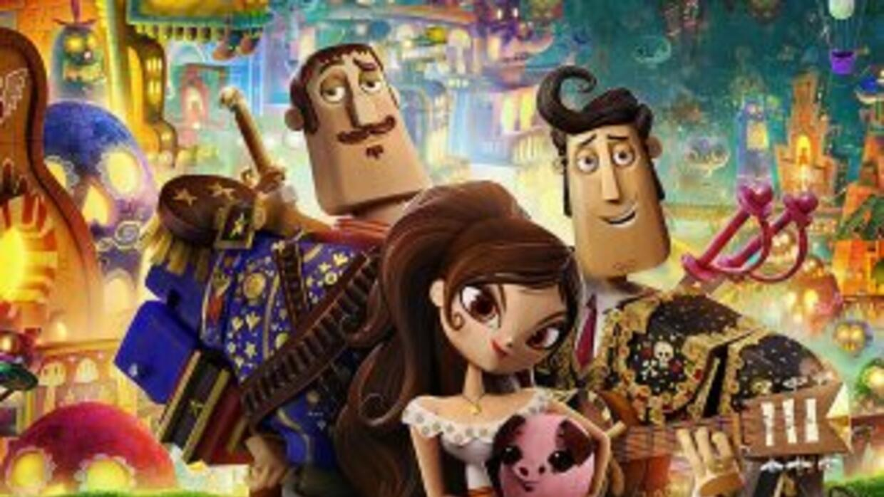 Tráiler de 'The Book of Life', producida por Guillermo del Toro