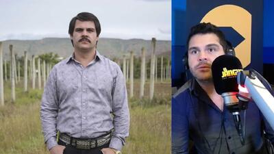 Marco de la O habla del reto de interpretar dos décadas de la vida de 'El Chapo'