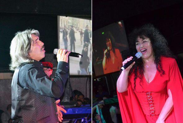 Amanda Miguel y Diego Verdaguer en vivo