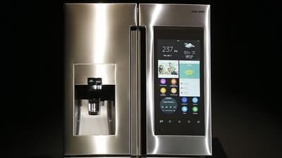 El nuevo refrigerador de Samsung
