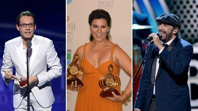 Mira quiénes han sido los más nominados en la historia de Premio Lo Nuestro