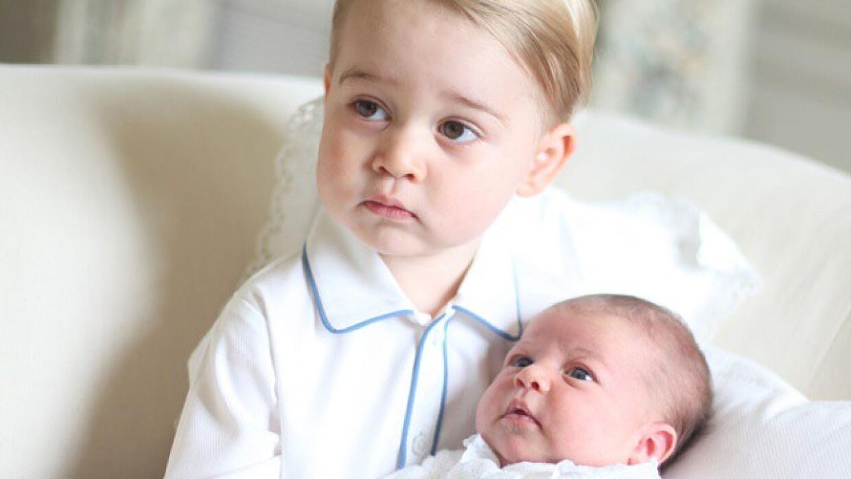 George y Charlotte juntos