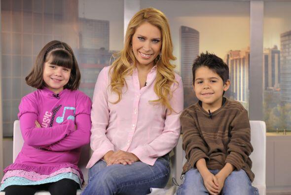 Karlita entrevistó a Jimena, quien tomó el papel de la pequeña Gigante.