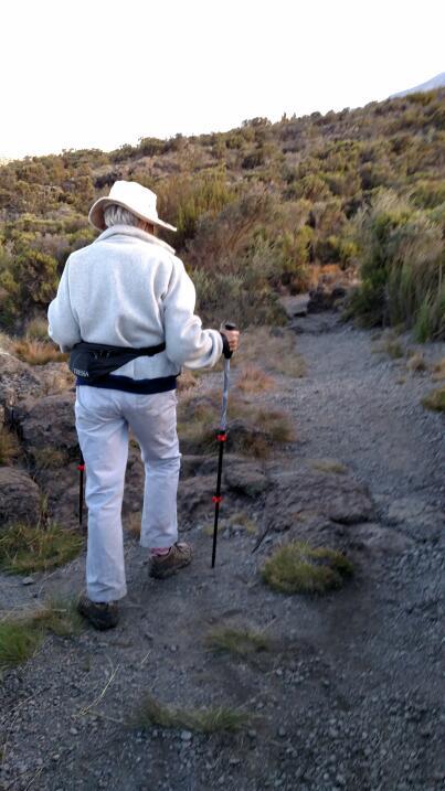 La aventura de Anne Lorimor en Kilimanjaro