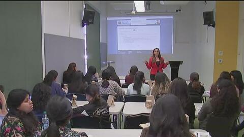 Mediante esta iniciativa, un grupo de latinas quiere lograr que más muje...