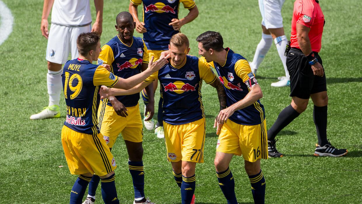 NY Red Bulls venció 3-0 a Minnesota United