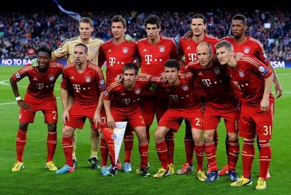 Pero enfrente tenían a un Bayern Munich que ya en la ida demostró que es...