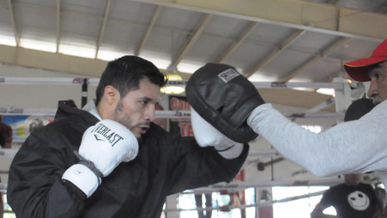 Jhonny Gonzpalez cerró preparación (Foto: Promociones del Pueblo).