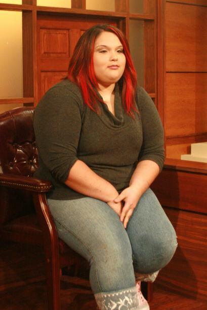 La joven Vanessa Crespo asistió como  testigo, pues  ella padeció al iny...