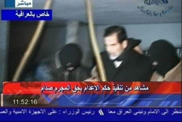 El último y más preciado objeto al que se aferró el mandatario irakí fue...