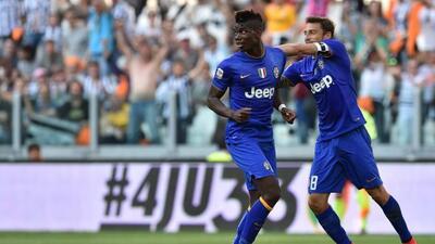 El atacante francés reapareció con gol y le dio el empate a la Juventus.