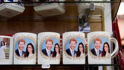 Todavía no se casan, pero ya hay en venta recordatorios del príncipe Harry y Meghan Markle