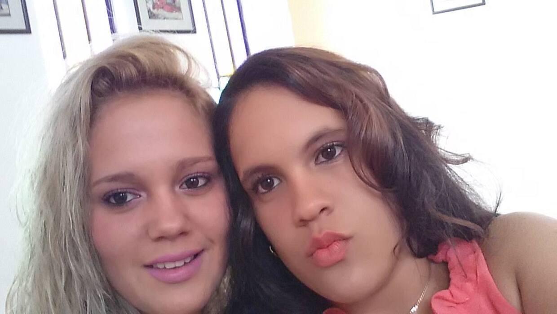 Las hermanas Gretter Rodriguez y Yudeisy Zamora murieron junto a su madr...
