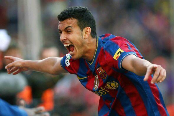 Para sentirse cada vez más campeones, Pedro aumentó la ventaja barceloni...