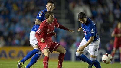 Cruz Azul empató 0 - 0 con Toluca en la final de ida de la CONCACAF Liga...