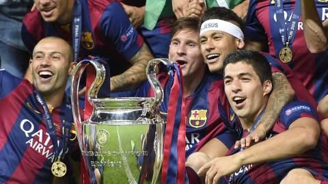 2015, el año casi perfecto del Barcelona