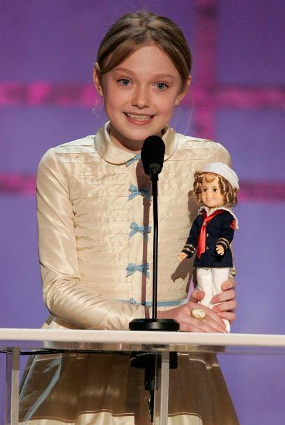 En enero de 2006, Dakota ganó un reconocimiento especial en los Screen A...