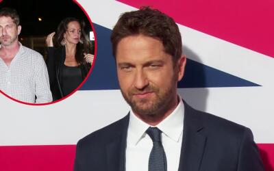Gerard Butler termina con Morgan Brown