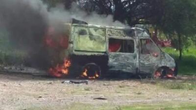 La misteriosa desaparición de cuatro personas que viajaban en una ambulancia que apareció quemada
