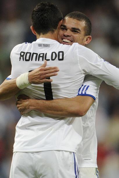 Incluso, Cristiano y Pepe no sólo son muy amigos, también comparten insu...