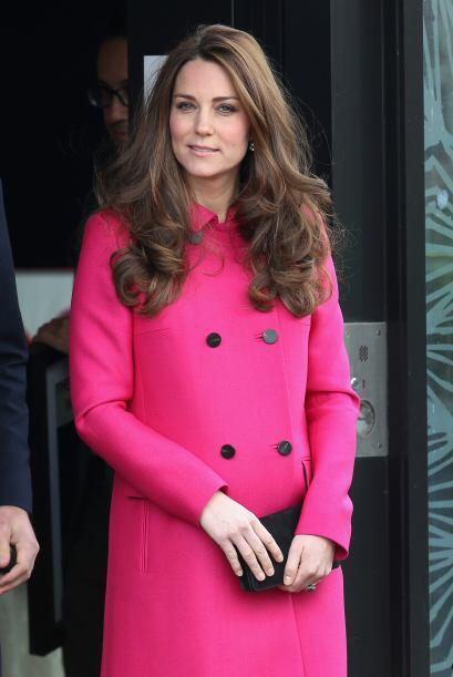 Como siempre, la Duquesa vistió impecable.
