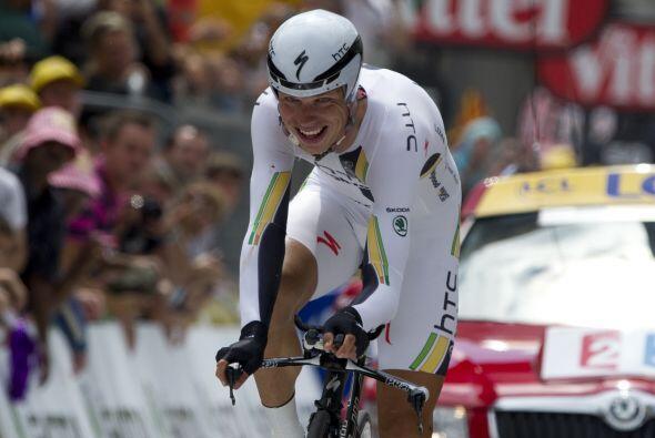 El alemán Tony Martin ganó la vigésima etapa del tour de Francia.