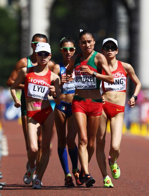 Lupita González, la guerrera del atletismo mexicano GettyImages-83099340...