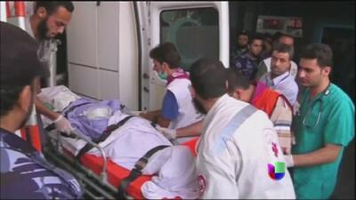 La Franja de Gaza vive la ofensiva más mortífera desde que comenzó el co...