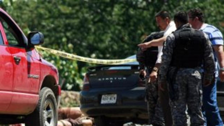 Al menos 17 cuerpos fueron hallados el domingo en el ejido Modelo, munic...