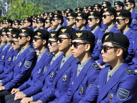 Corea del Sur presentó a su nueva policía turística...