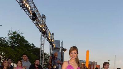Así ha lucido Giselle Blondet en la alfombra de Premio Lo Nuestro