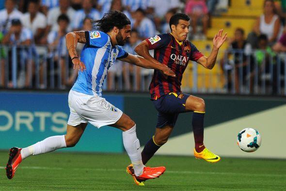 Pese a la ausencia de Lionel Messi por molestias físicas, el Barcelona d...