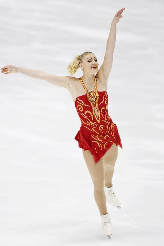 Belleza y capacidad en el patinaje artístico sobre hielo en Finlandia 9b...