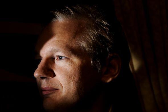Julian Assange, cuyo arresto por sospechas de violación este martes se p...