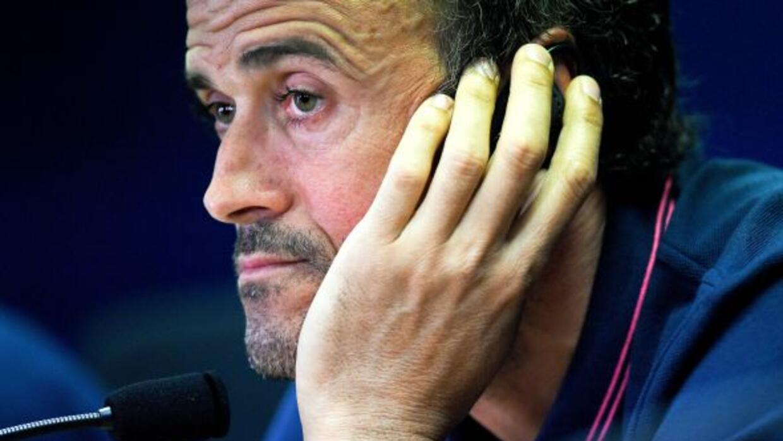 El entrenador del club 'culé' quitó responsabilidad a sus futbolistas po...