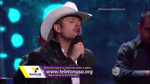 El Dasa cantó 'Alegre y Enamorado'